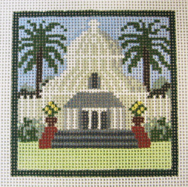 Needlepoint Arboretum Canvas