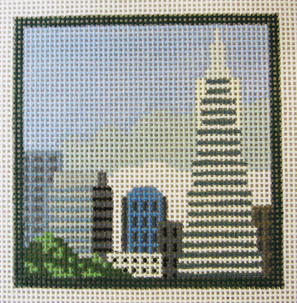 Needlepoint Transamerica Canvas