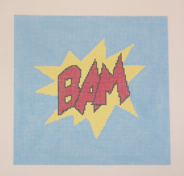 Needlepoint BAM Canvas