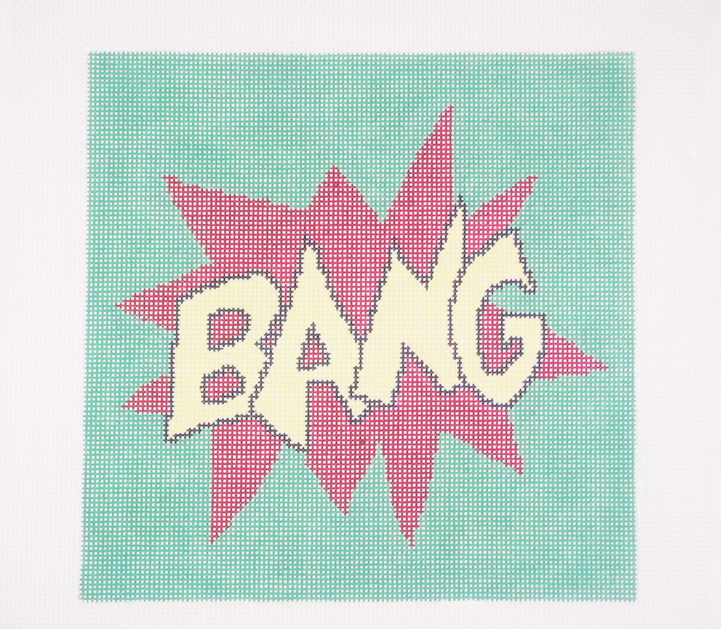 Needlepoint BANG Canvas
