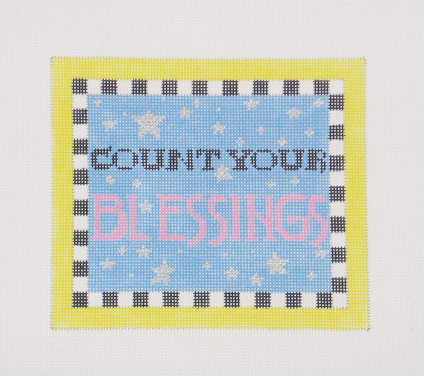 Needlepoint Blessings Canvas
