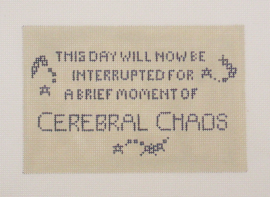 Needlepoint Chaos Canvas