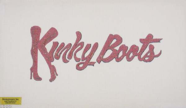 Needlepoint Kinky Boots Canvas