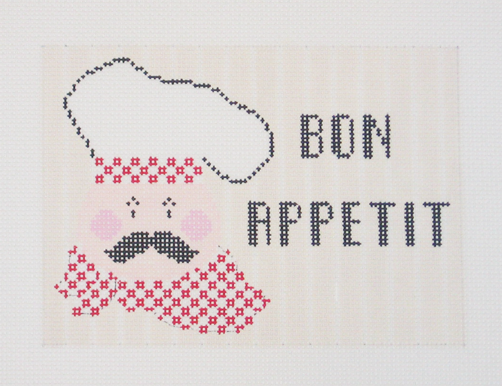 Needlepoint Bon Appetit Canvas