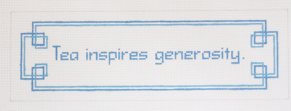 Needlepoint Generosity Canvas