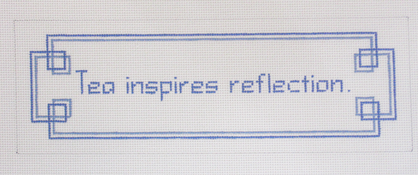 Needlepoint Reflection Canvas