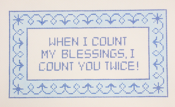 Needlepoint Blessing Canvas