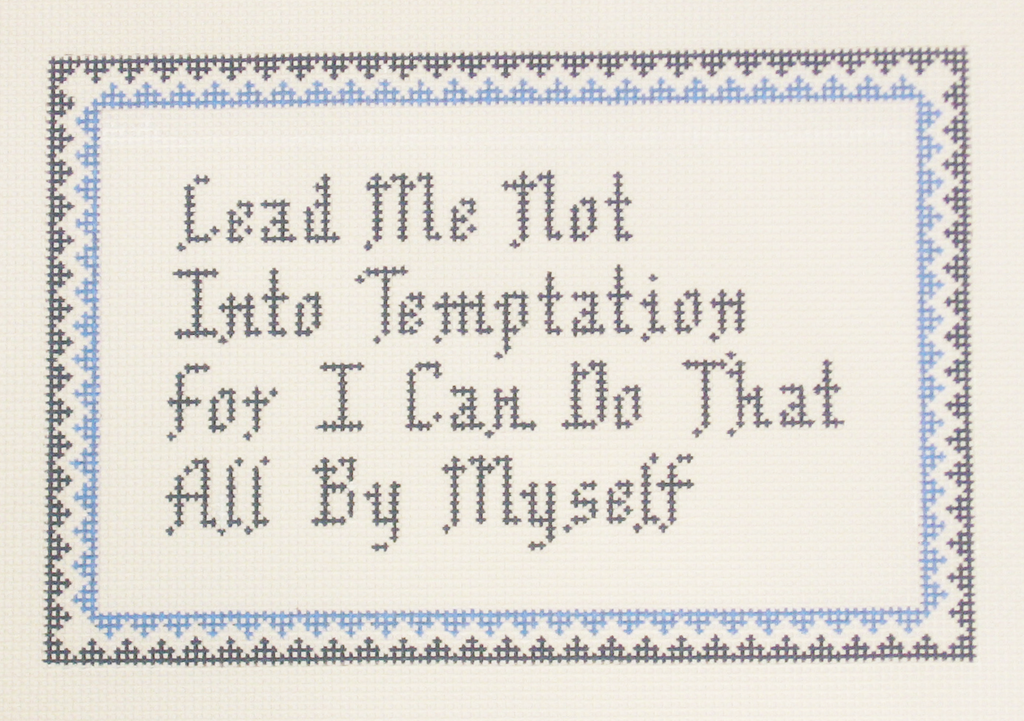 Needlepoint Temptation Canvas