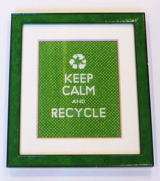 Keep Calm and Recycle