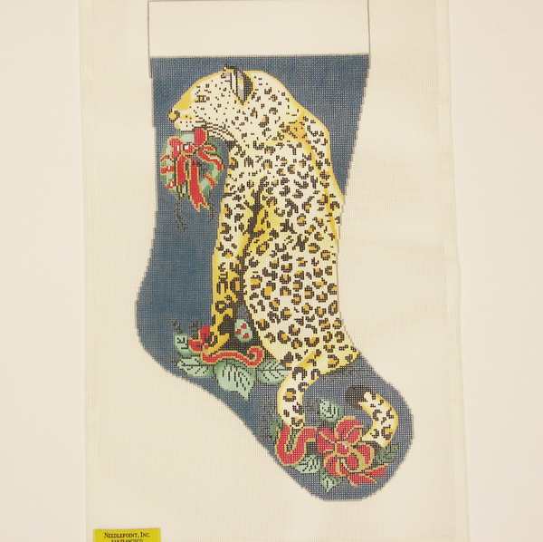 Needlepoint Cheetah canvas