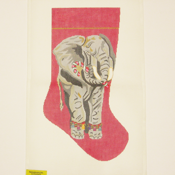 Needlepoint Elephant canvas