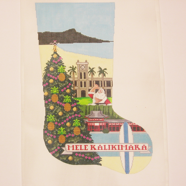 Needlepoint Hawaii canvas