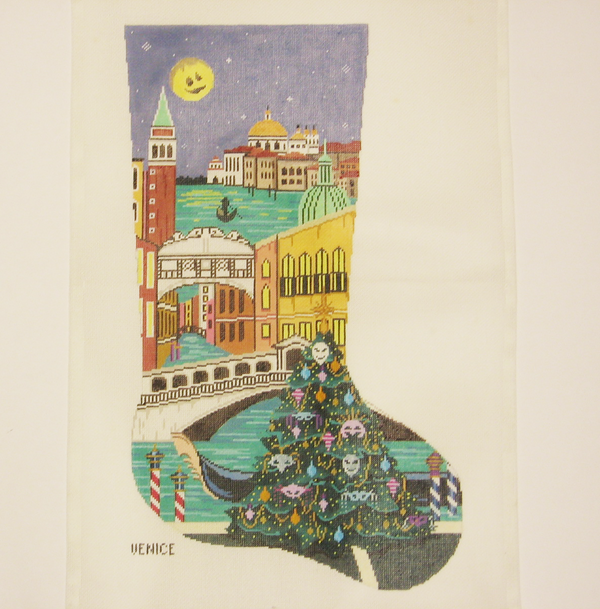 Needlepoint Venice canvas