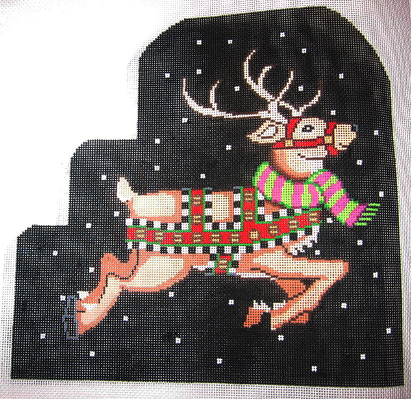 Needlepoint Prancer Canvas