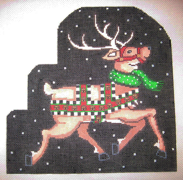 Needlepoint Vixen Canvas