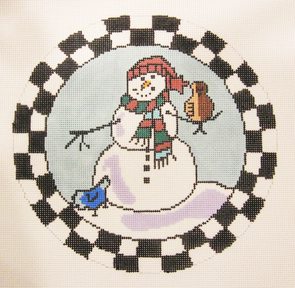 Needlepoint Snowmen Canvas