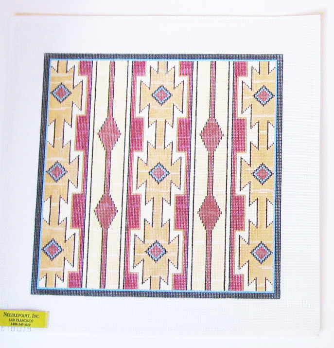Needlepoint Native American Textile Canvas