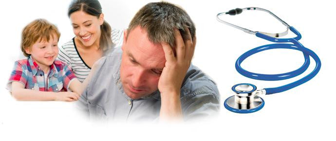 Top 5 HEALTH ISSUES which men NEVER SHARE with their families and how you can help them!