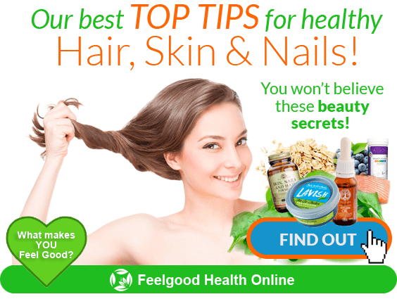 Our best TOP TIPS for healthy hair, skin & nails PLUS our FREE organic hair mask recipe!