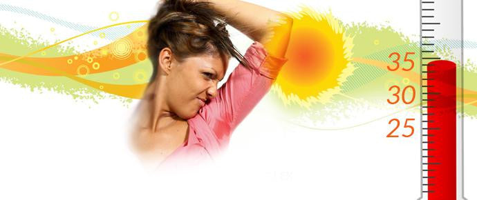 Are you sweating up a storm? What is normal?