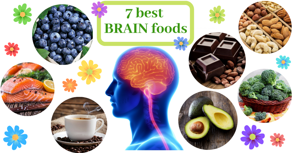 Brain foods improve memory concentration health functioning