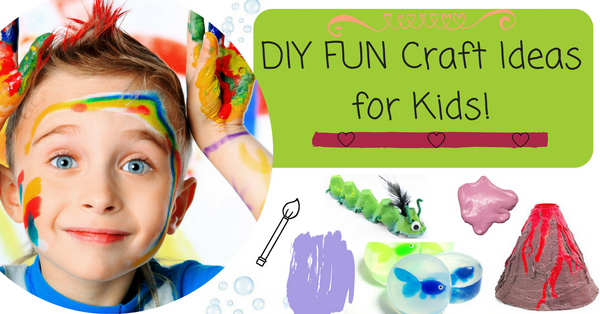 DIY craft activities for kids