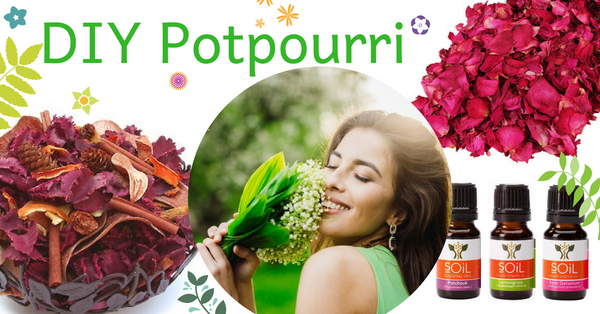 How to make your own essential oil infused pot pourri