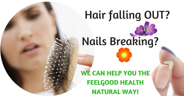 Natural ways to help your breaking hair & nails!