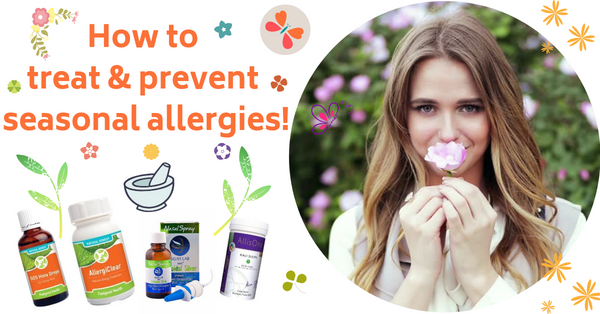 How to naturally treat allergies!
