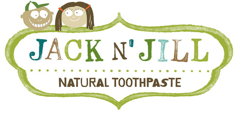 Jack and Jill Natural toothpaste for babies and children