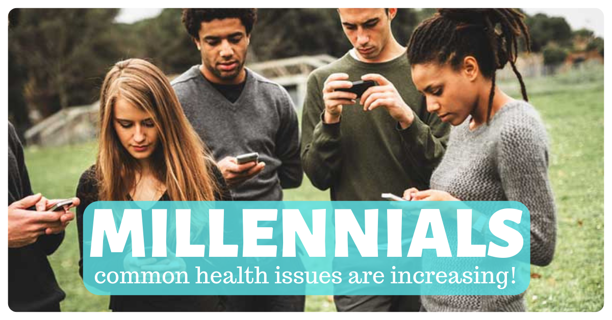common physical mental health issues millennials