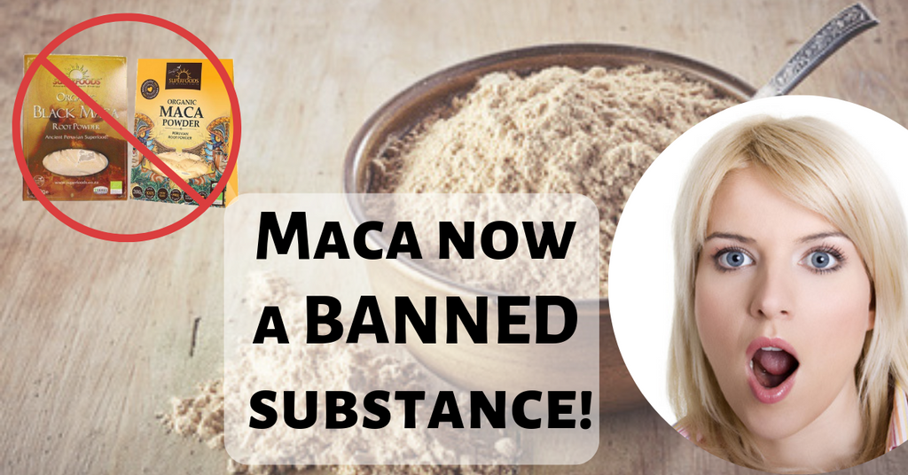 Maca root powder banned substance for professional athletes