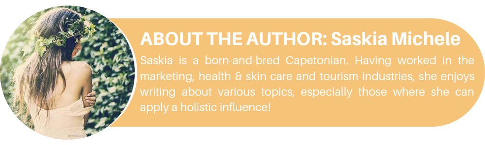 Saskia Carelse health holistic blog author
