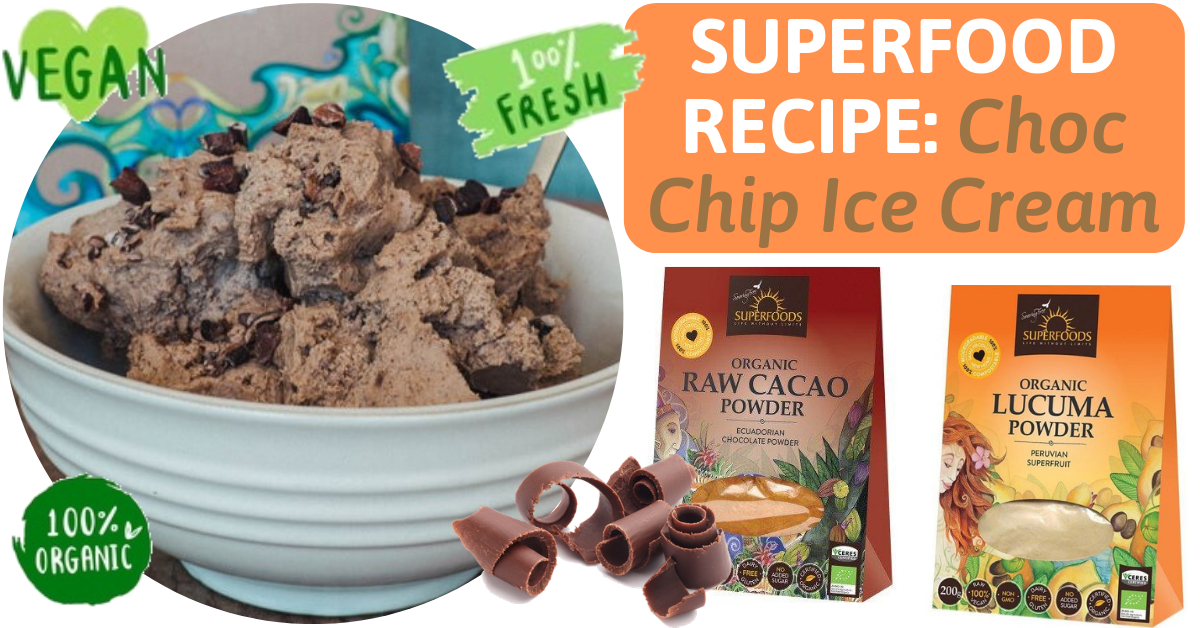 superfood organic dessert ice cream recipe