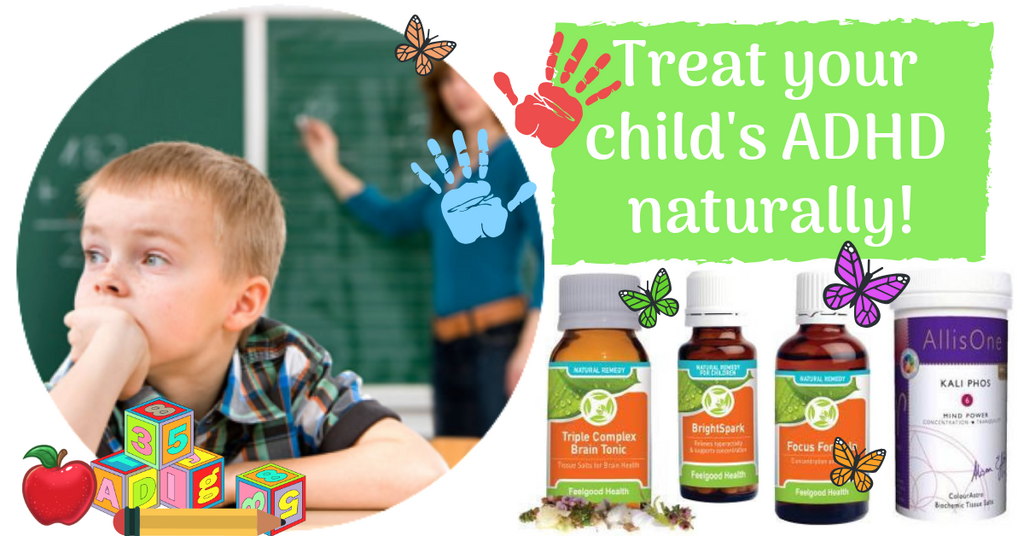 Treat your child's ADHD ADD naturally