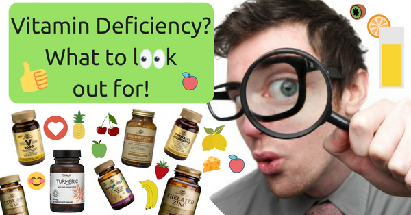 How to detect a vitamin deficiency