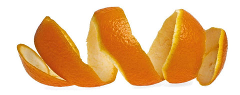 orange fruit peels natural teeth whitening