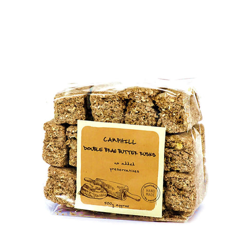 Camphill Village West Coast's Double Bran Butter Rusks (500g)