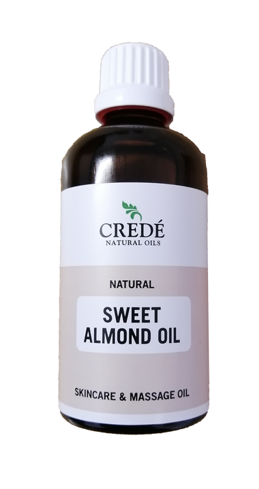 Crede Sweet Almond Oil: With Vitamin E for Skin Health! South Africa Natural Oil.