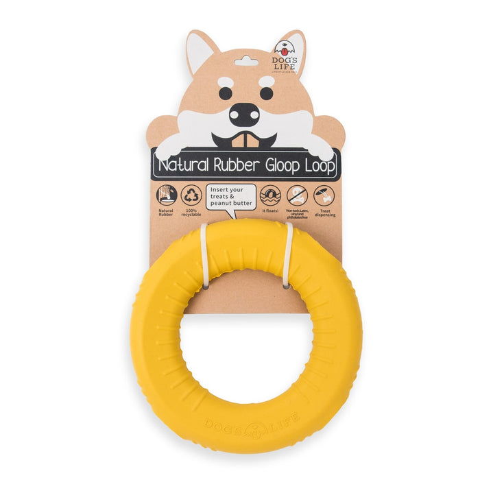 Interactive dog treat dispensing toy made from non-toxic and biodegradable natural rubber