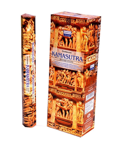Sensual Darshan Kamasutra Natural Incense
