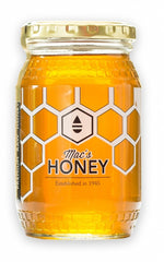 Mac's raw, unprocessed, unheated orange blossom honey