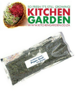 Kitchen Garden Organic Poppy Seeds