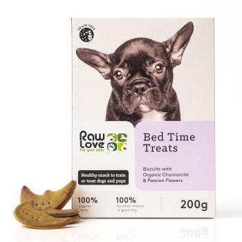 organic healthy bed time treats for pets
