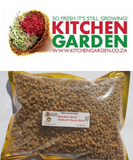 Non-GMO organic Detroit Dark Red Garden Beet Seeds for sprouting