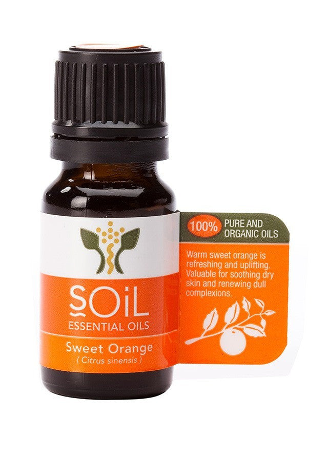 Sweet Orange Oil:  100% Pure Organic Essential Oil from Soil