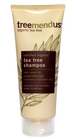 Treemendous! Organic, Natural Tea Tree Shampoo from Soil