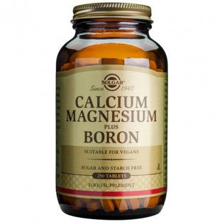 Solgar Calcium Magnesium Plus Boron (250 tablets). For bone, teeth & joint health