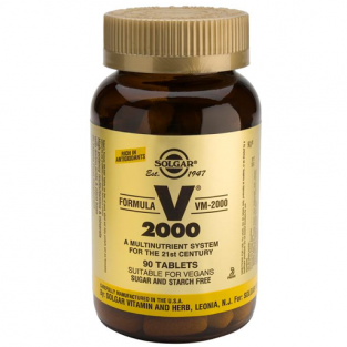 Solgar Formula VM-2000: Multivitamin & Mineral Supplement (90 tablets)