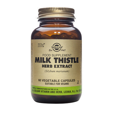 Solgar Milk Thistle for herbal liver support